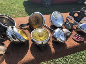 antique headlights
